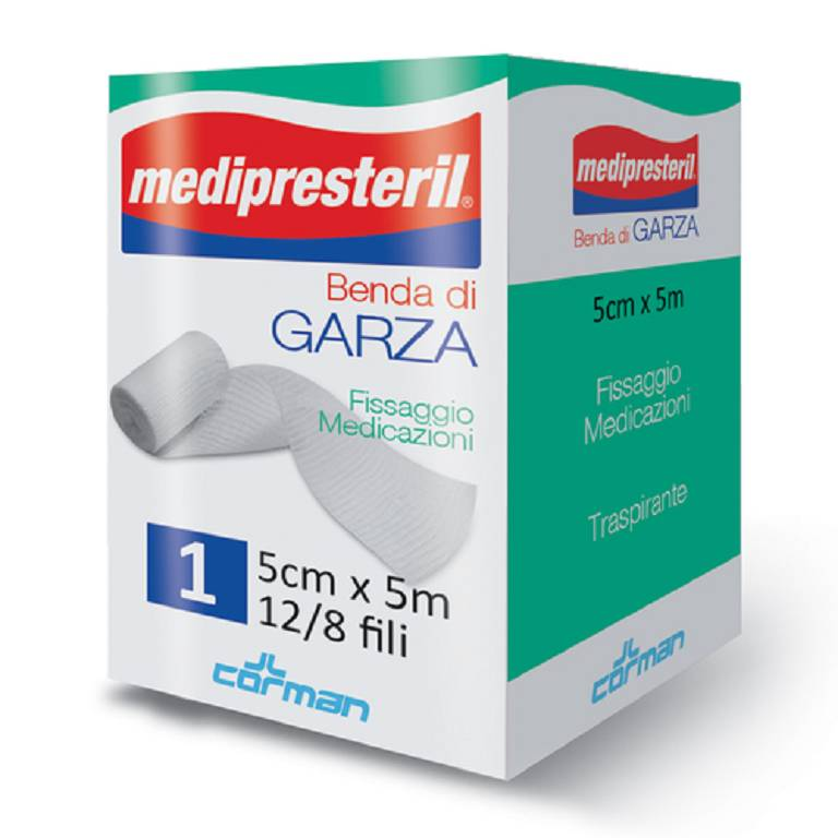 BENDA MEDIPRESTERIL 12/8 5X500