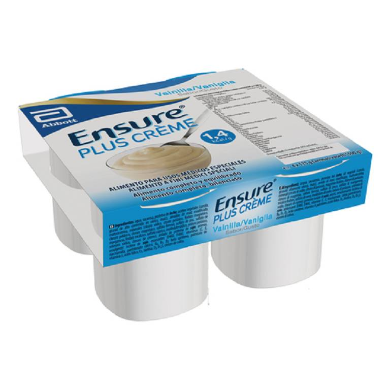 ENSURE PLUS CREME VAN 4X125G