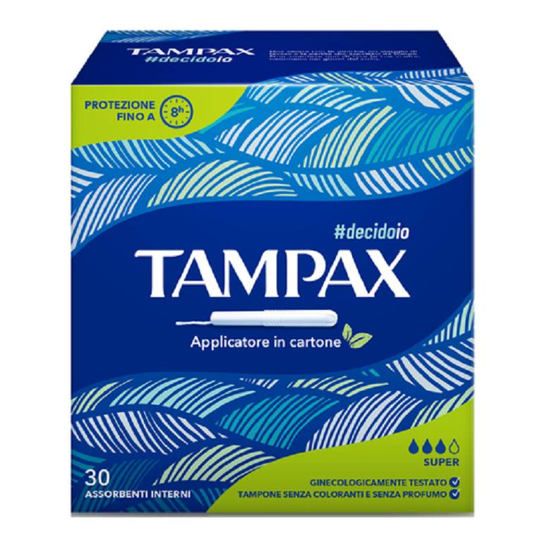 TAMPAX BLUE BOX SUPER 30PZ