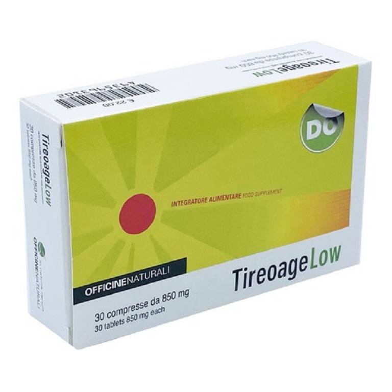 TIREOAGE LOW 30CPR 850MG